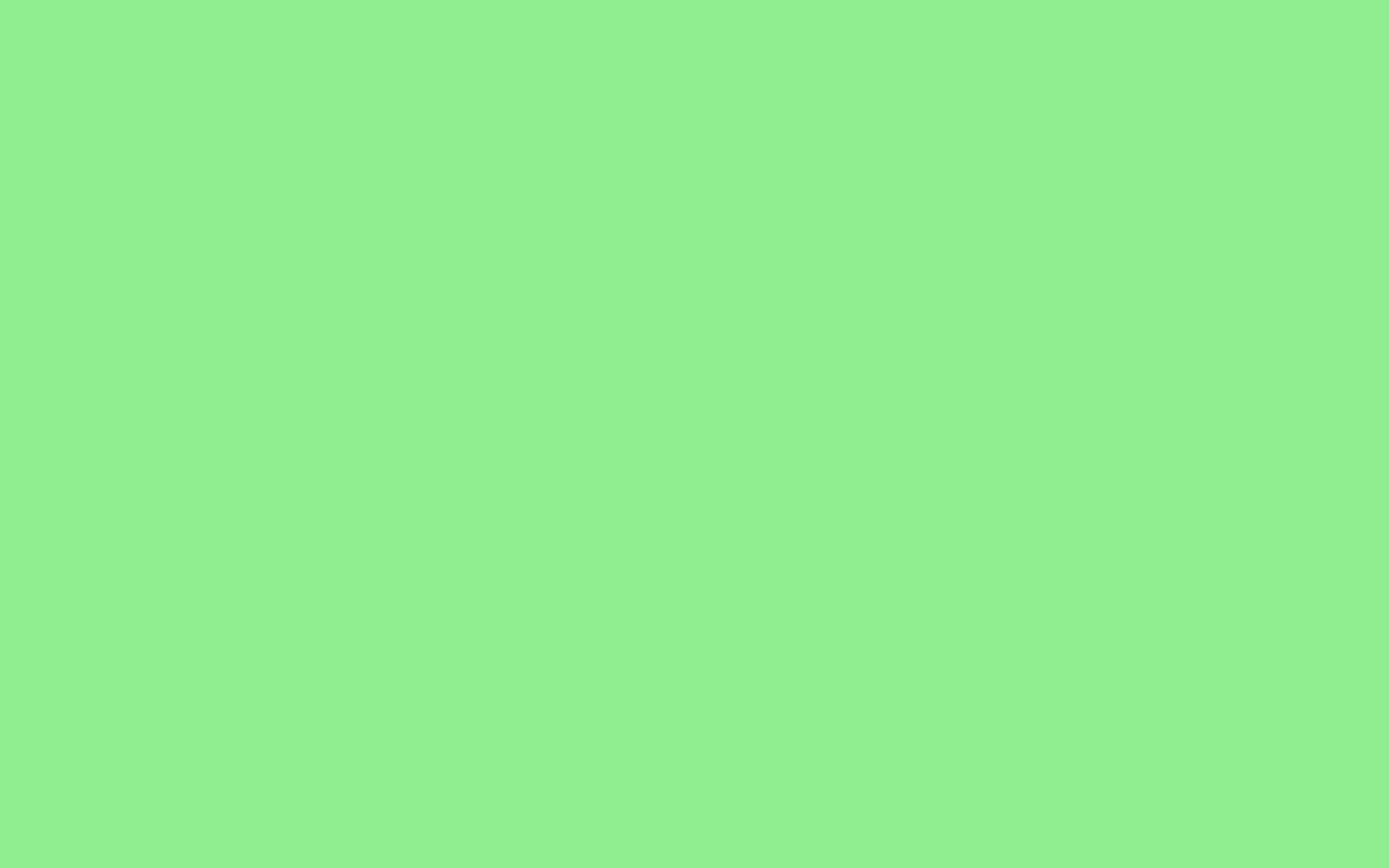 2880x1800 Light Green Solid Color Background